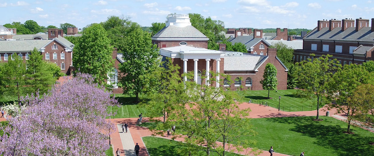 UD campus exterior
