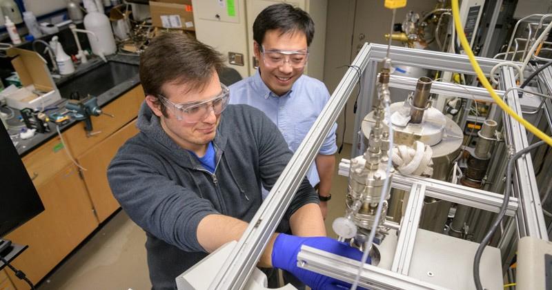 Casper Brady and Prof. Bingjun Xu