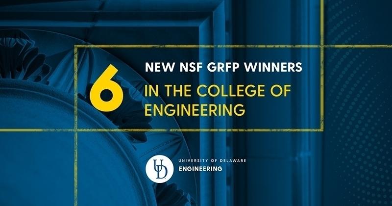 New NSF Graduate Research Fellows