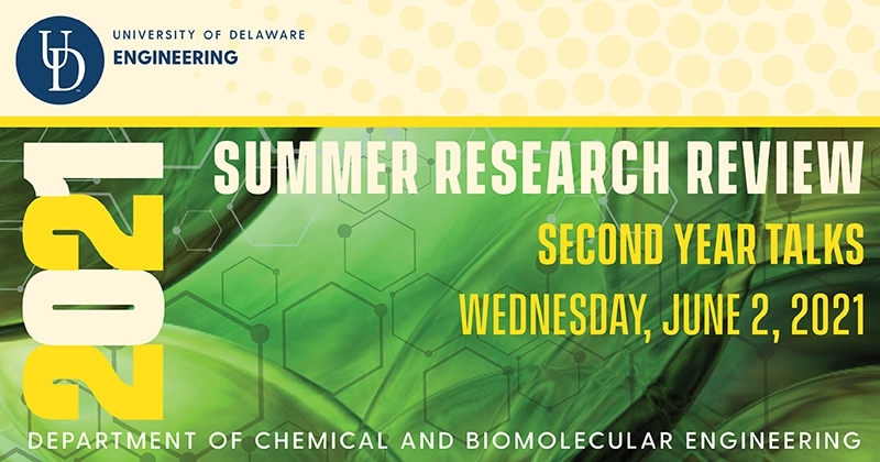 SUMMER RESEARCH REVIEW: 2nd Year Talks