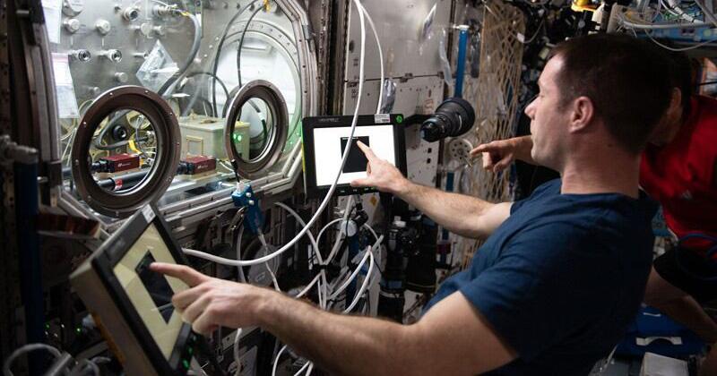 USING ZERO GRAVITY OF SPACE